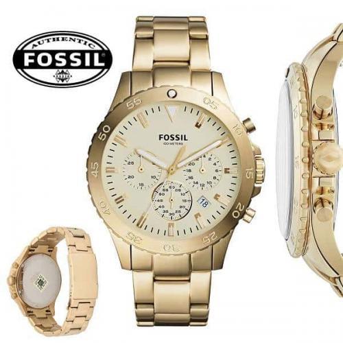 b47213ea138 Relógio Fossil Casual Unissex Dourado Analógico CH3061 4DN ...