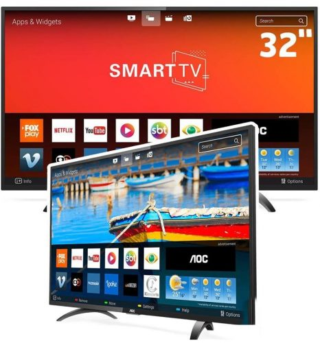 b2b0a785541 Smart TV LED 32 Polegadas AOC LE32S5970S HD Wifi 2 USB 3 HDMI ...