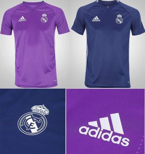 15f0e6e27e3e2 Camisa de Treino Real Madrid 16 17 adidas - ( Tam  P ao GG ...