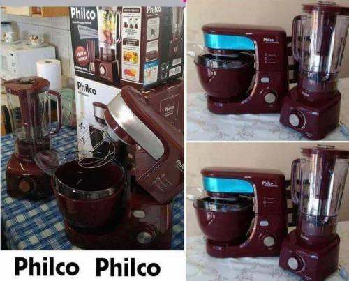 0e4795bab Batedeira Planetária Philco PHP500 Turbo Wine 500W – 12 Velocidades +  Liquidificador Philco PH900 220 Volts