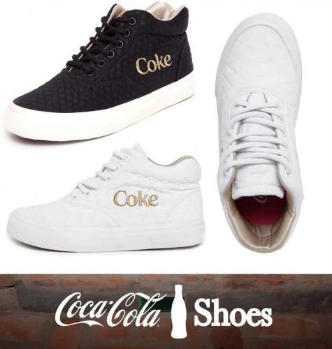 2b1ea46ca7644 Tênis Coca-Cola Valencia Matelassê – Ofertinha Promoções