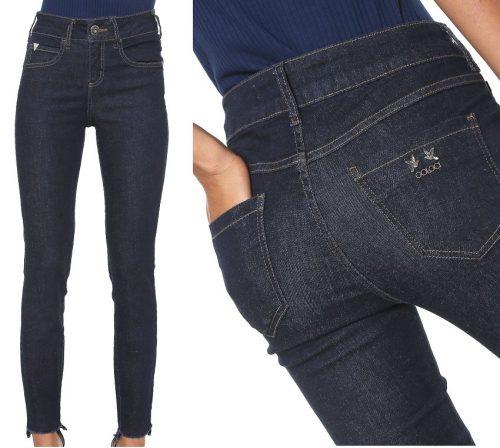 4626194ac Calça Jeans Colcci Skinny Cory Azul-marinho – Ofertinha Promoções