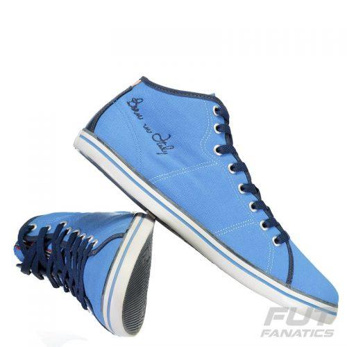 1c3d44e9790 Tênis Fila Venezia High Feminino Azul – Ofertinha Promoções