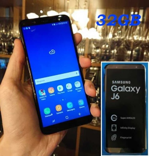 979bdcf294 Smartphone Samsung Galaxy J6 32GB Dual Chip Android 8.0 Tela 5.6″ Octa-Core  1.6