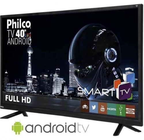 ab6449e81 Smart TV LED 40″ Philco Ph40e60dsgwa Full HD com Conversor Digital 2 HDMI 2  USB
