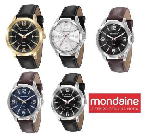 fba736b435a Relógio Masculino Mondaine Analógico – Ofertinha Promoções