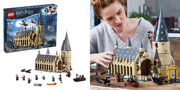 Chollazo LEGO Harry Potter Gran Comedor de Hogwarts 75954