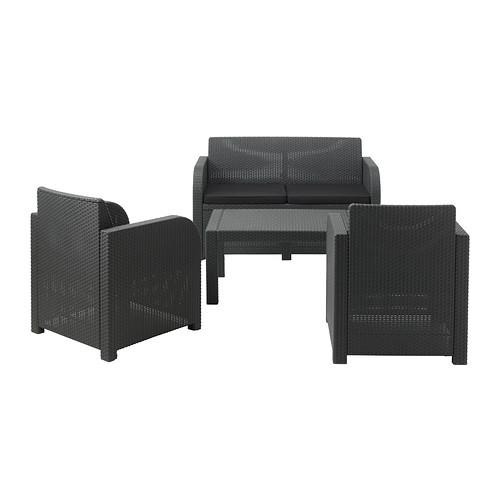 ikea gartenm bel rattan. Black Bedroom Furniture Sets. Home Design Ideas