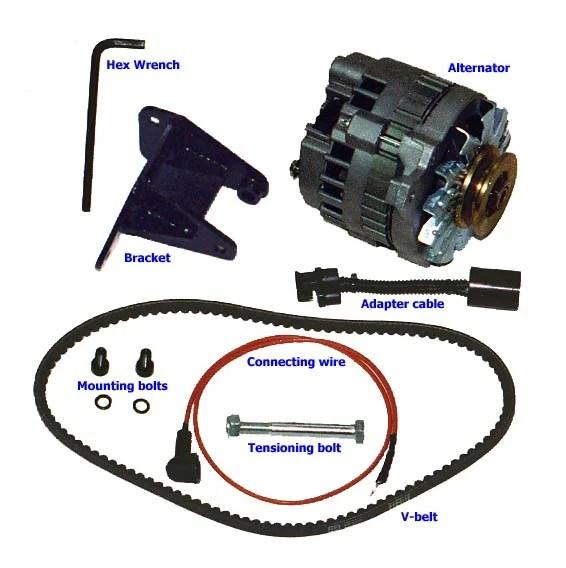 gm cs alternator wiring diagram johnson outboard motor parts cs130 samurai great installation of randy g 4 wire