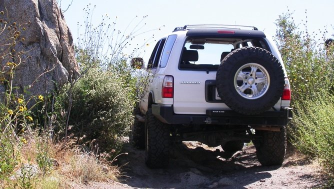 best spare tire mounting options off