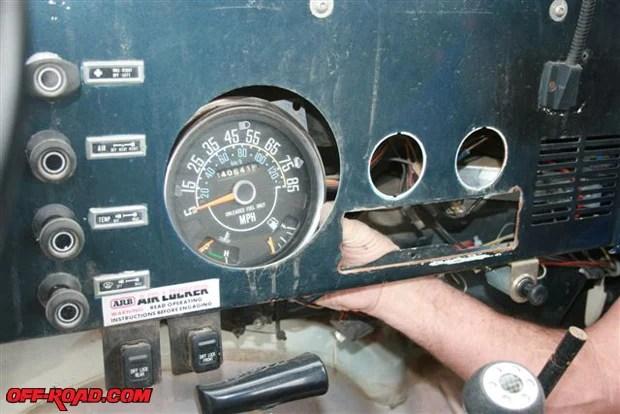 1975 Cj5 Wiring Diagram Replacing Jeep Cj 7 Instrumentation Gauges Off Road Com