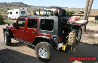 Adding a roof rack to your JK hardtop, inexpensively ...