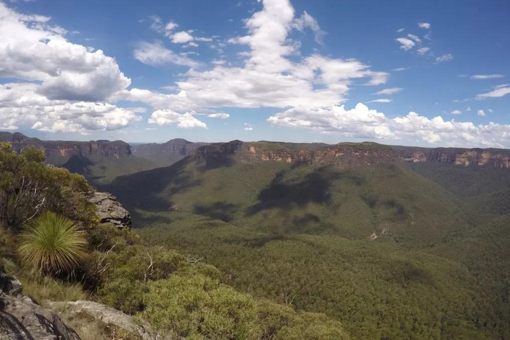 australien ostkueste blue mountains drei schwestern sydney