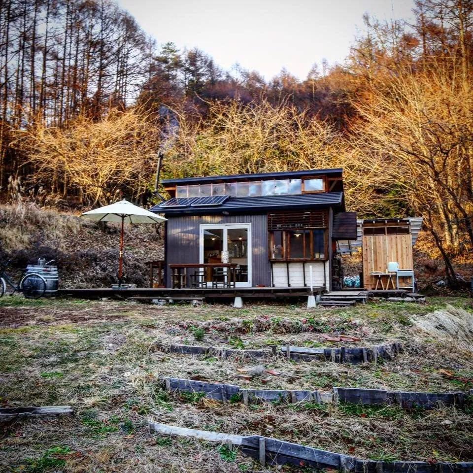 Winzige Hausbewegung - Hütte