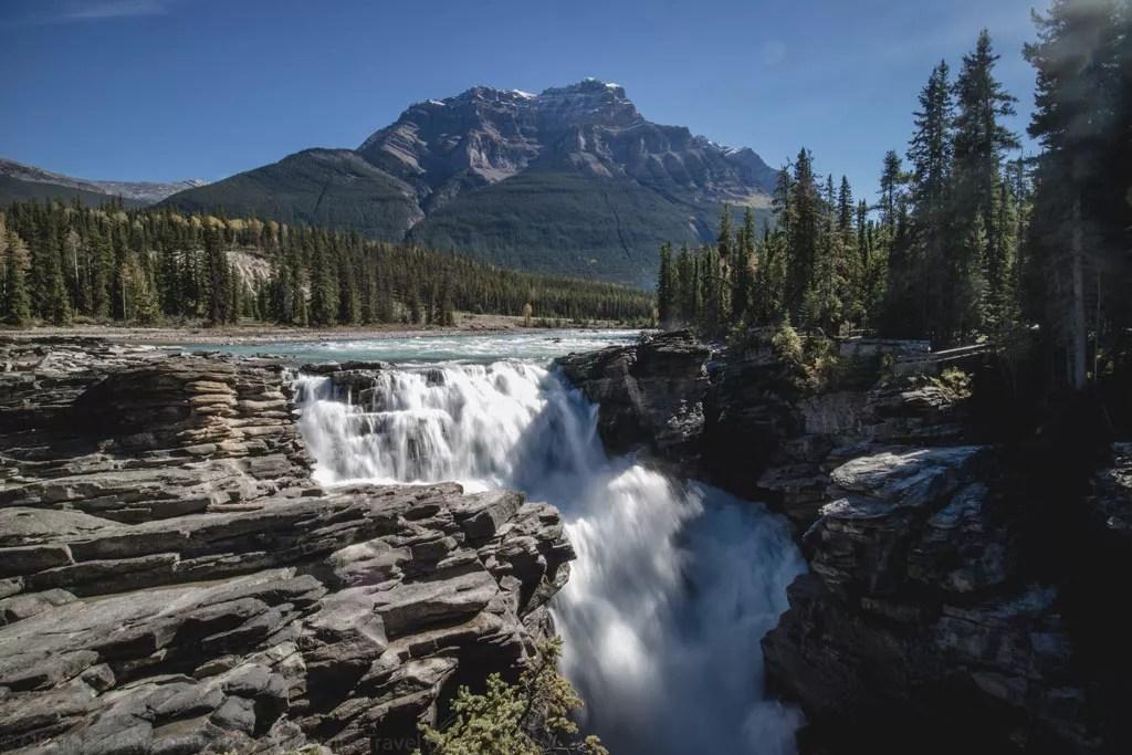 Athabasca Falls - Jaspis
