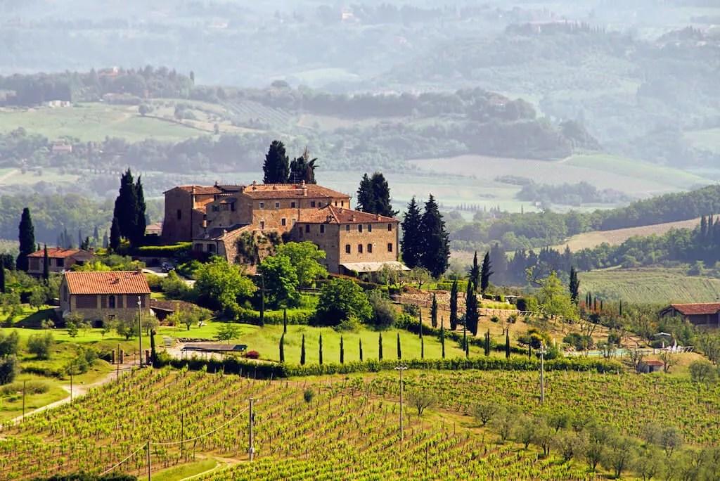 Montalcino - Wein
