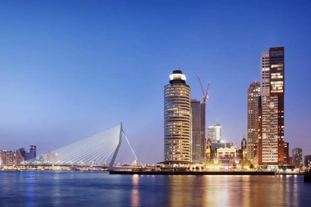 Skyline in Rotterdam