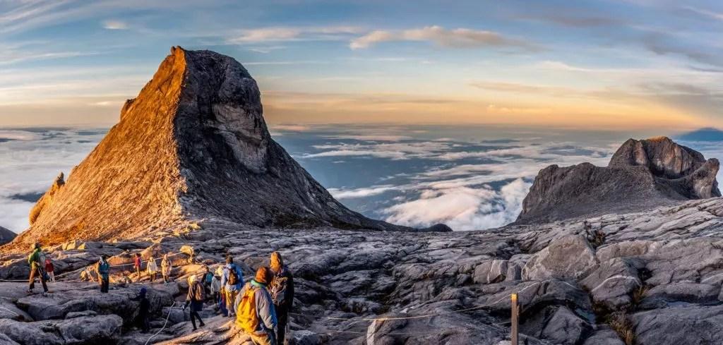 abstieg mount Kinabalu malaysia