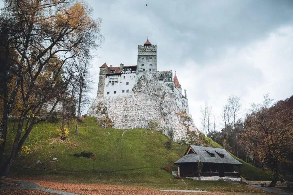 bram castle - draculas schloss in transsilvanien