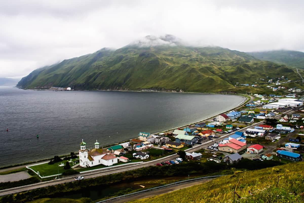 A Voyage Along the Alaskan Coast by Ellen Massey Leonard