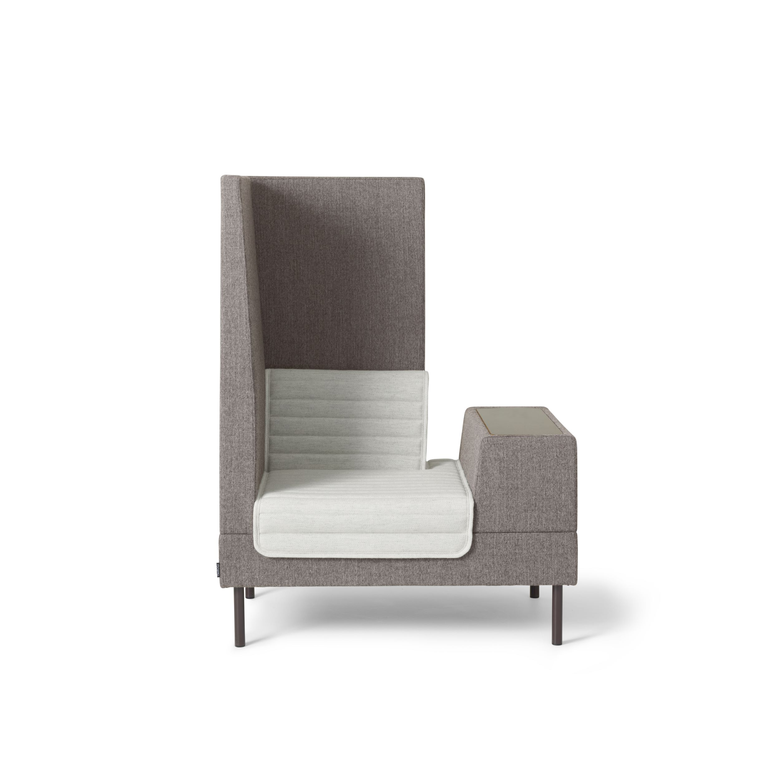 Smallroom Plus 1000  Easy chair with divider  Ineke