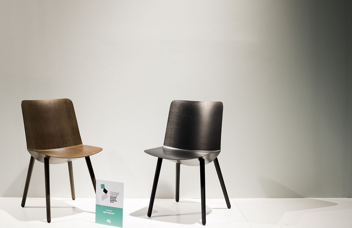yilan chair design competition 2018 tall round kitchen table and chairs vinnare editors choice award  bästa produkt offecct