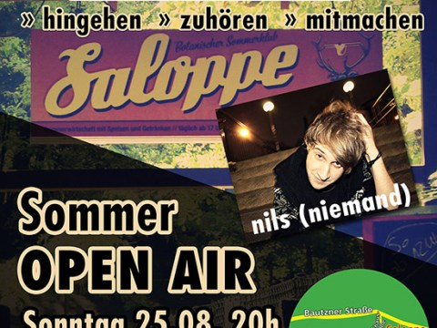 Sommer Open Air in der Saloppe 7
