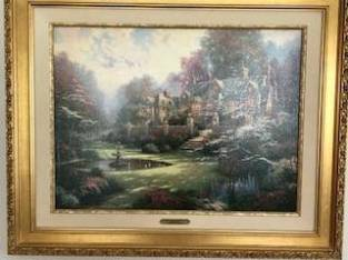 Thomas Kinkade collection (Ravena) $800
