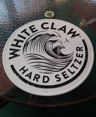 WHITE CLAW HARD SELTZER METAL TIN SIGN NEW (Schenectady NY) $10
