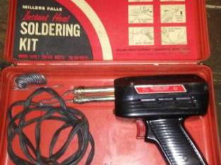 VINTAGE WORKING SOLDERING KIT (Schenectady NY) $10
