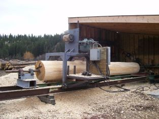 Log Home Manufacturing and construction company