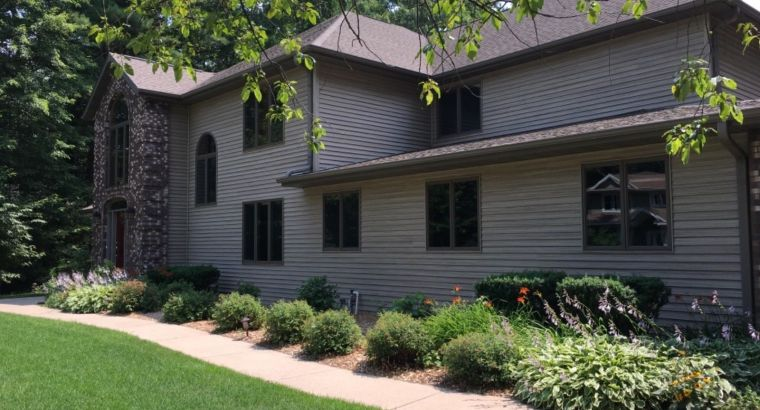 Beautiful Custom Home 5 Bedrooms 6 Baths 4900 Sq Ft Central Wisconsin