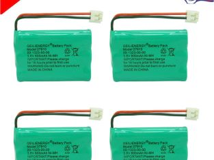 4x 800mAh Home Phone Battery For V-Tech 89-1323-00-00 8913230000 AT