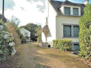 Huelgoat Brittany France Home & Income 2 adjacent properties + 6 Bed Stone House