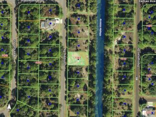 Port Charlotte Florida waterfront land owner financing – bid on full sale price