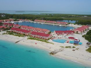 Two bedroom oceanfront condo in Bimini Bahamas