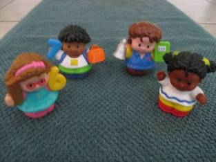 Fisher Price Little People Figures (Saratoga Springs) $10