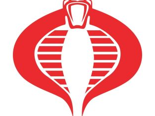 GI Joe Cobra Command Die cut Vinyl Decal – Logo Car Window Sticker phone laptop
