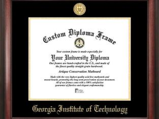 Georgia Tech GT Home Office Diploma Picture Frame