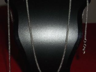 Best Junk Drawer: .925 Silver alloy 1.2mm Rolo – 24″ Chain Necklace Jewelry