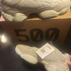 Yeezy 500 Salt Men's size 11.5 and 9