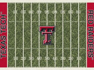 Texas Tech Red Raiders Milliken NCAA Home Field Indoor Area Rug