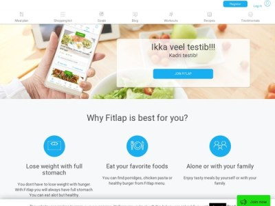 Fitlap – Higly Personalised Nutrition Plan