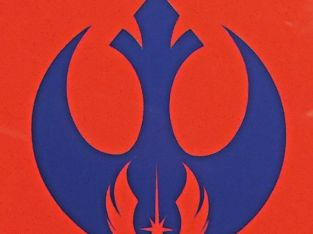 Star Wars Rebel Alliance Jedi Order Logo Sticker Vinyl Decal Car Laptop Window