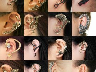 Fashion Jewelry Crystal Clip Ear Cuff Stud Women's Punk Wrap Cartilage Earring