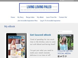 My eBook – Living Loving Paleo