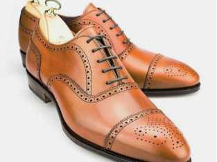 handmade leather oxford shoe for men's