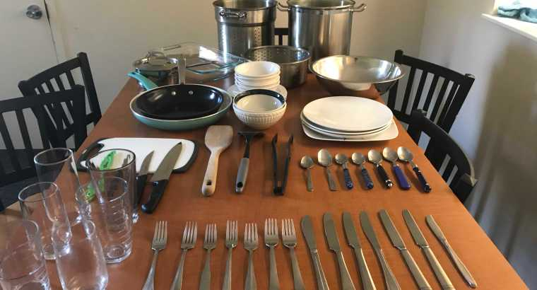 Set of Kitchen Appliances (Very Good condition)