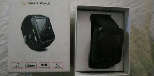 Mate Wrist Waterproof Bluetooth Smart Watch for Android Htc Samsung. Partially compatible with iPhones.