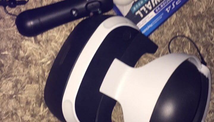 playstation Vr + controllers + spel